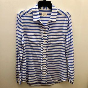 Kate Spade Striped Blouse